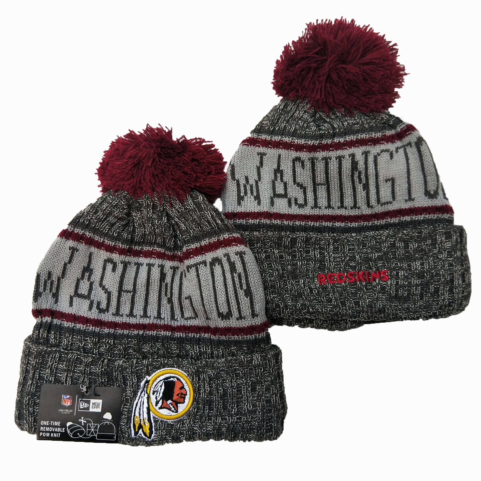 Washington Football Team Knit Hats 048