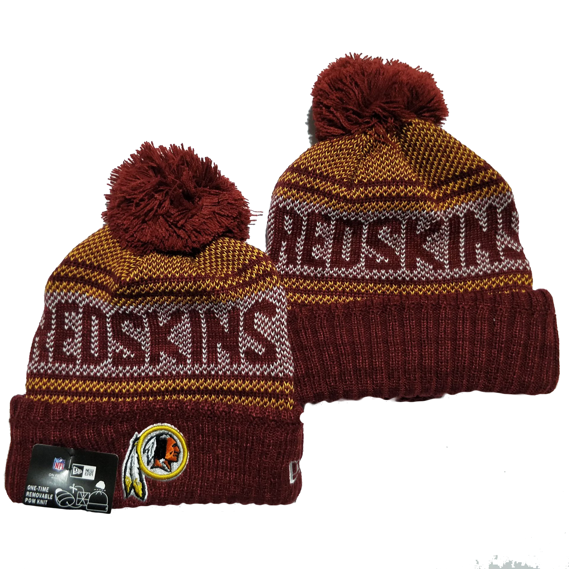 Washington Football Team Knit Hats 049