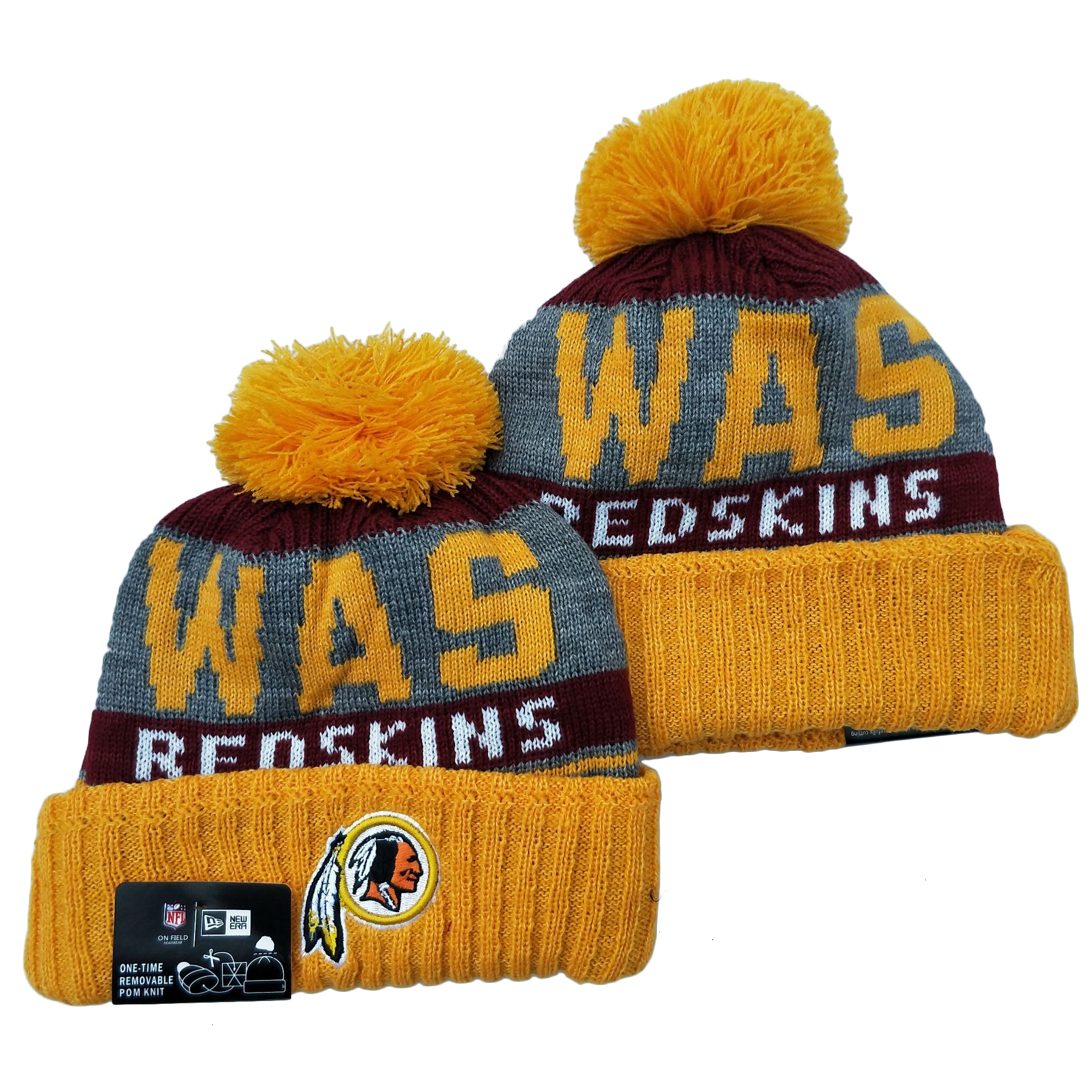 Washington Football Team Knit Hats 051