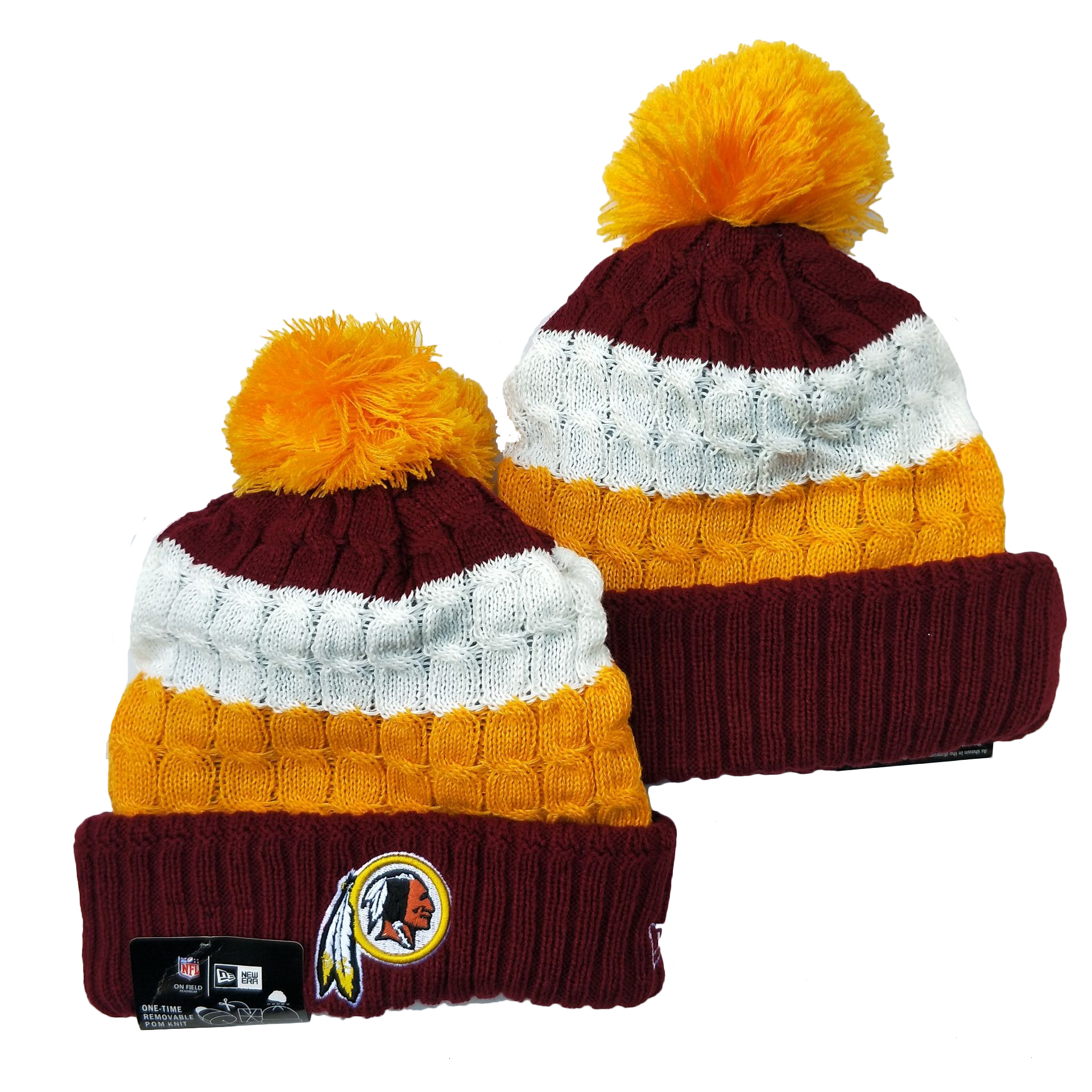 Washington Football Team Knit Hats 053