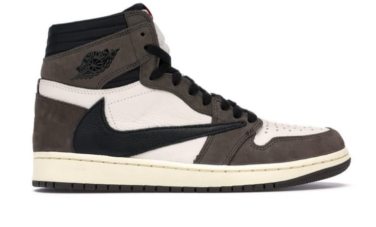 Men's Running weapon Travis Scott Air Jordan 1 Shoes 089