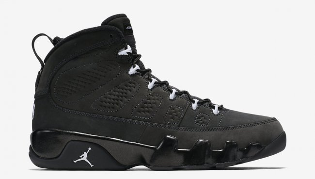 Running weapon Cheap Wholesale Air Jordan 9 Anthracite