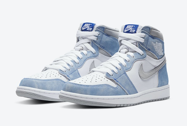 Men's Running weapon Air Jordan 1 Retro High OG Hyper Royal Shoes 0141