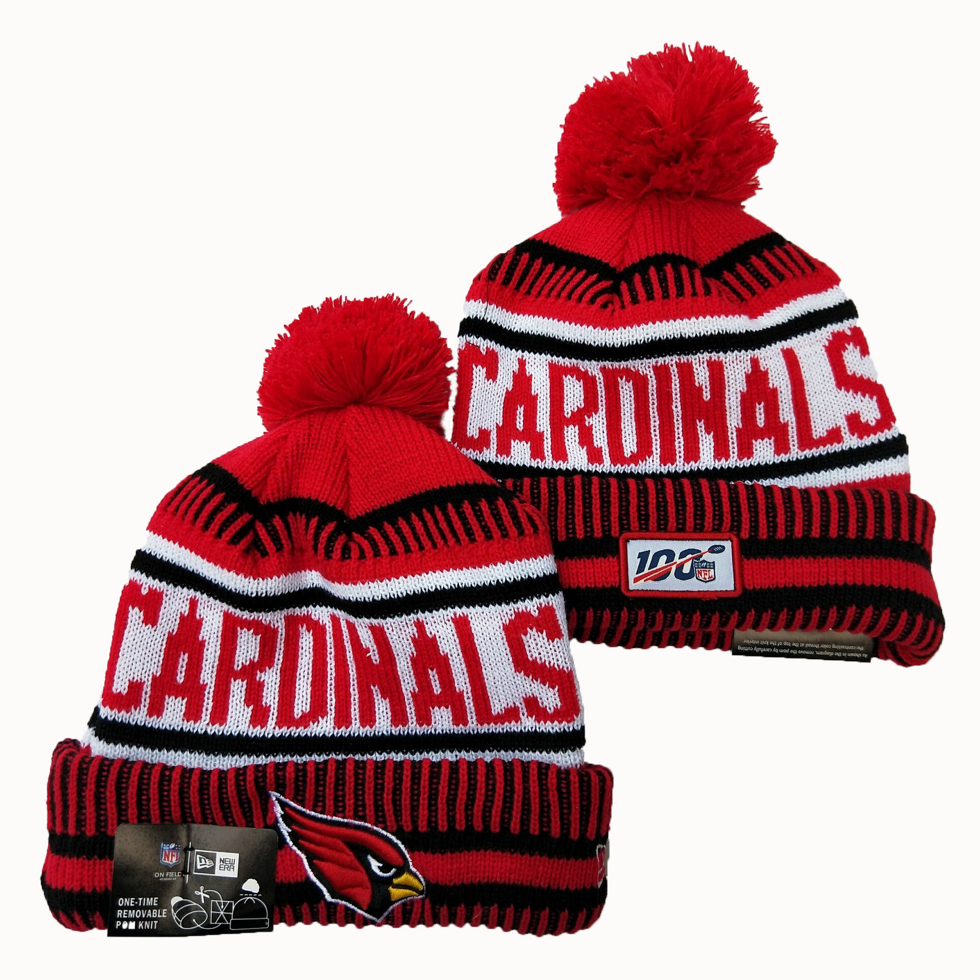 Arizona Cardinals Knit Hats 026