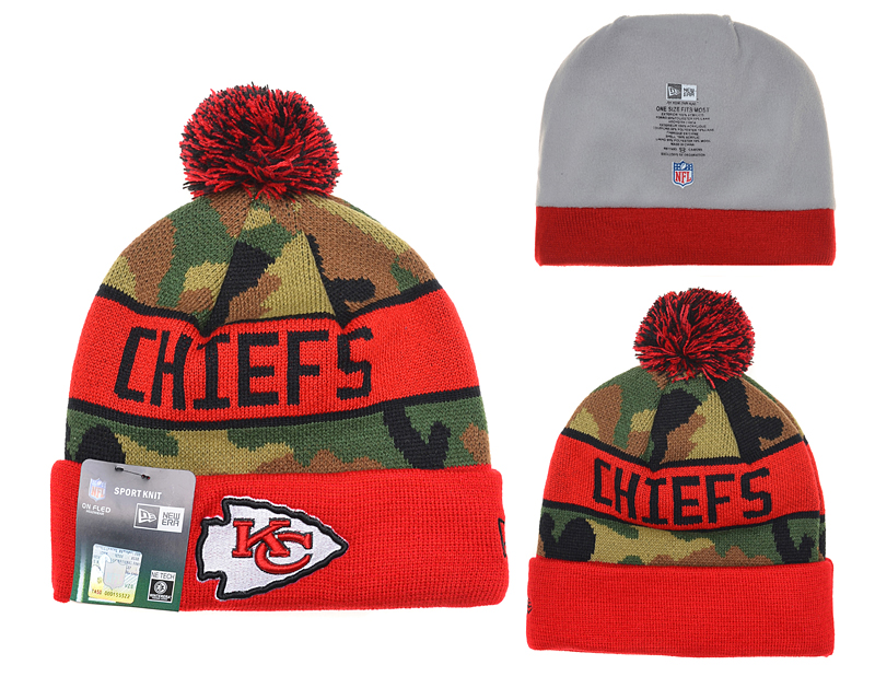 Kansas City Chiefs Knit Hats 055