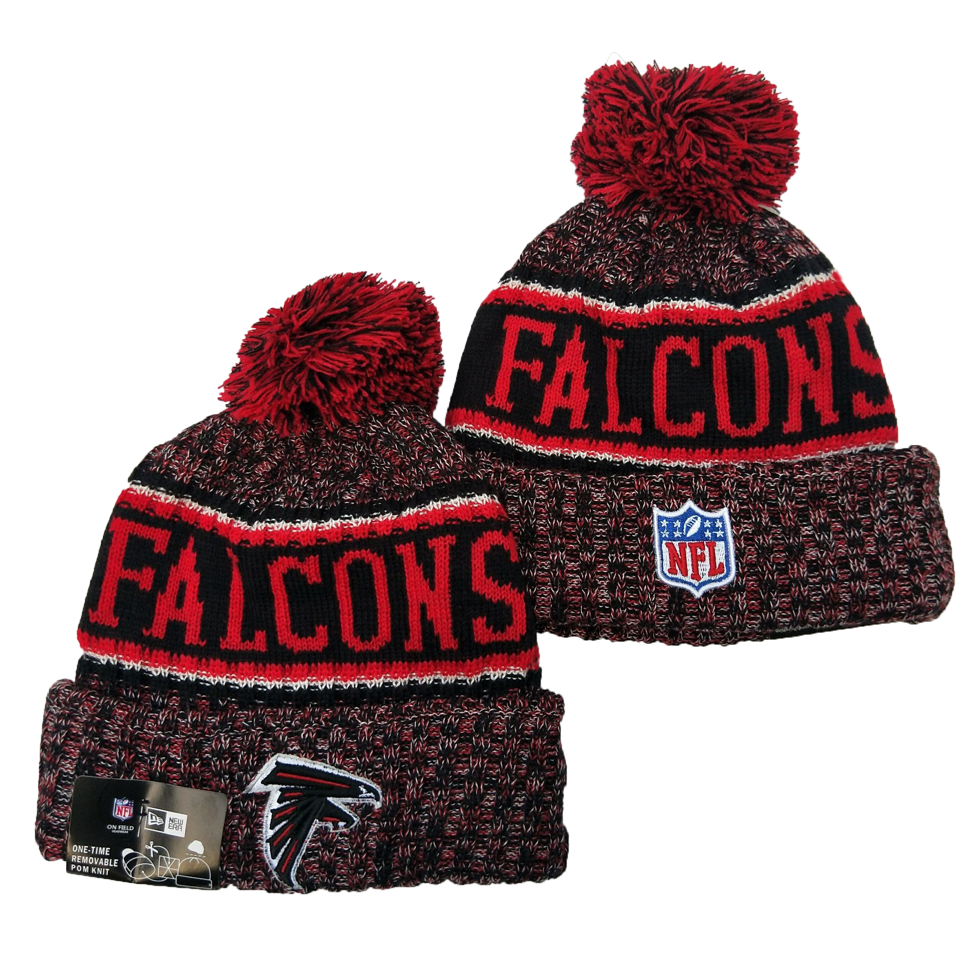 Atlanta Falcons Knit Hats 047