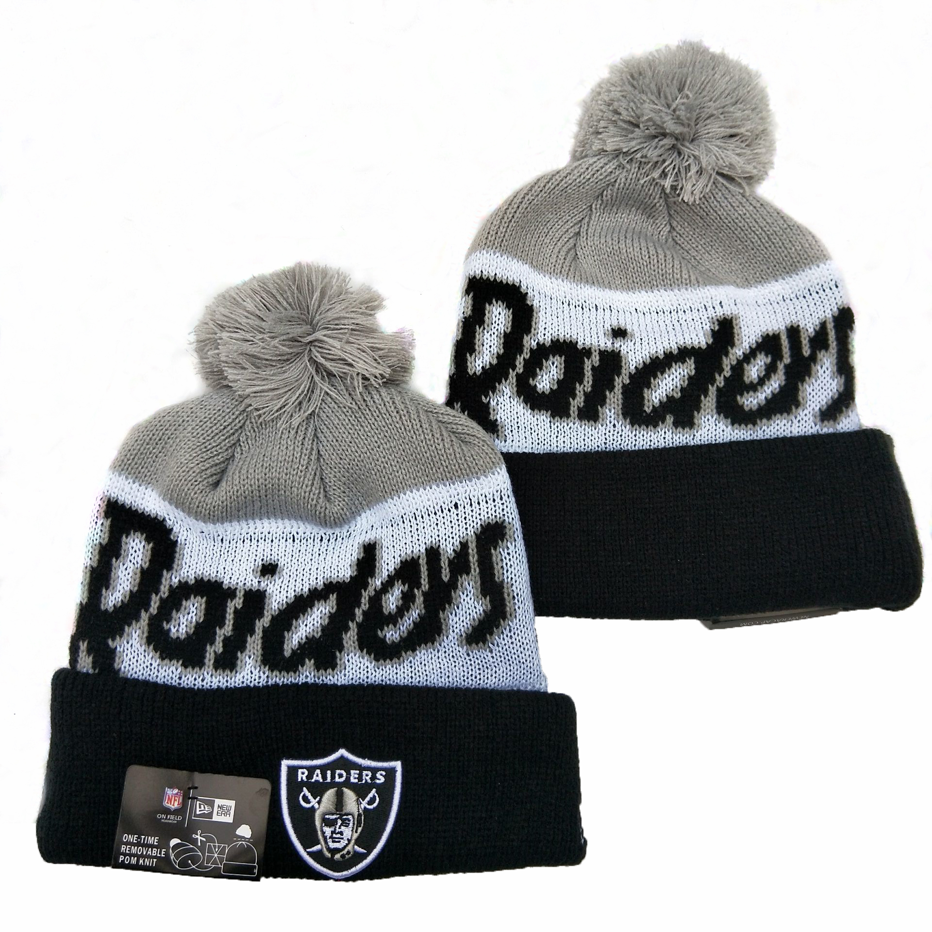 Las Vegas Raiders Knit Hats 057