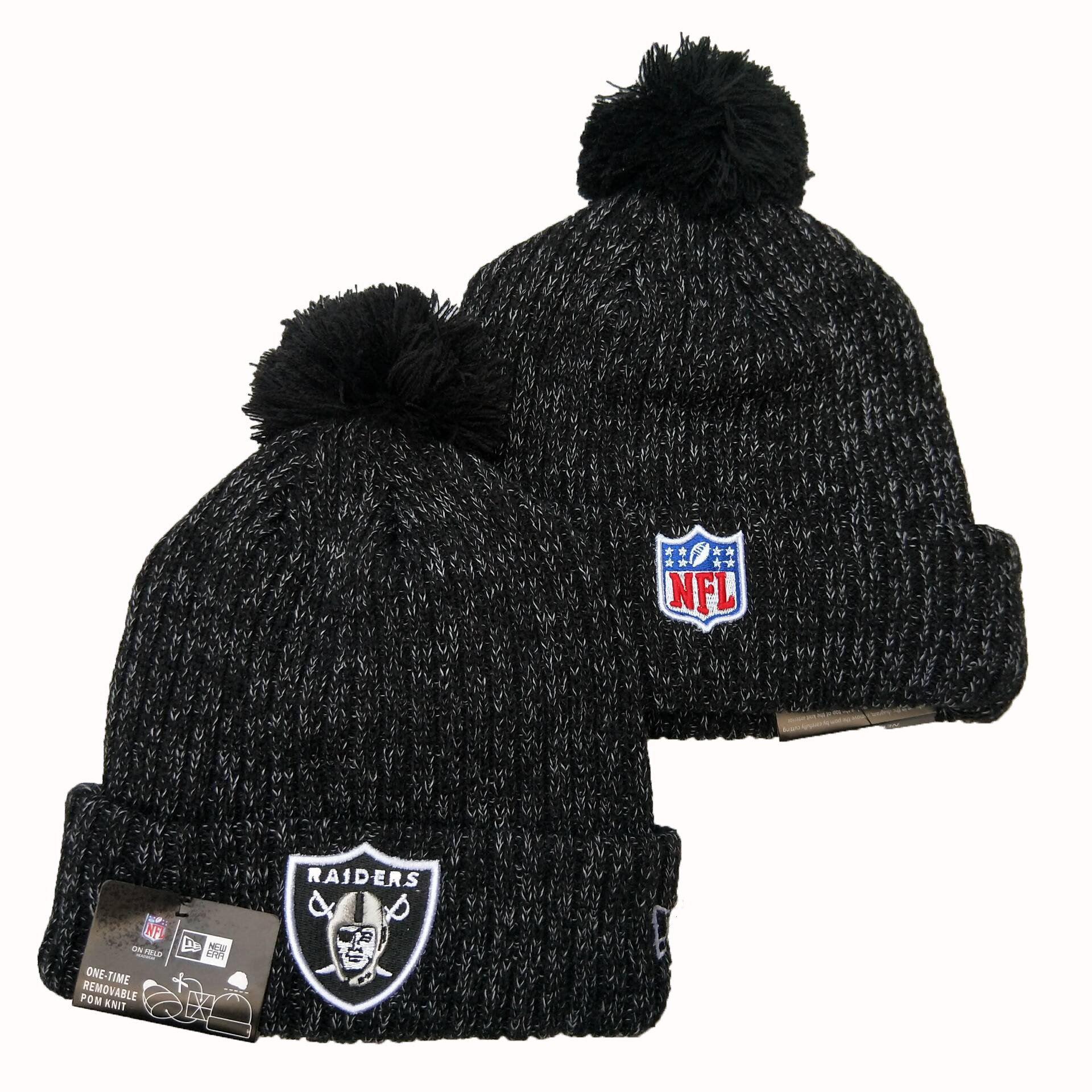 Las Vegas Raiders Knit Hats 062