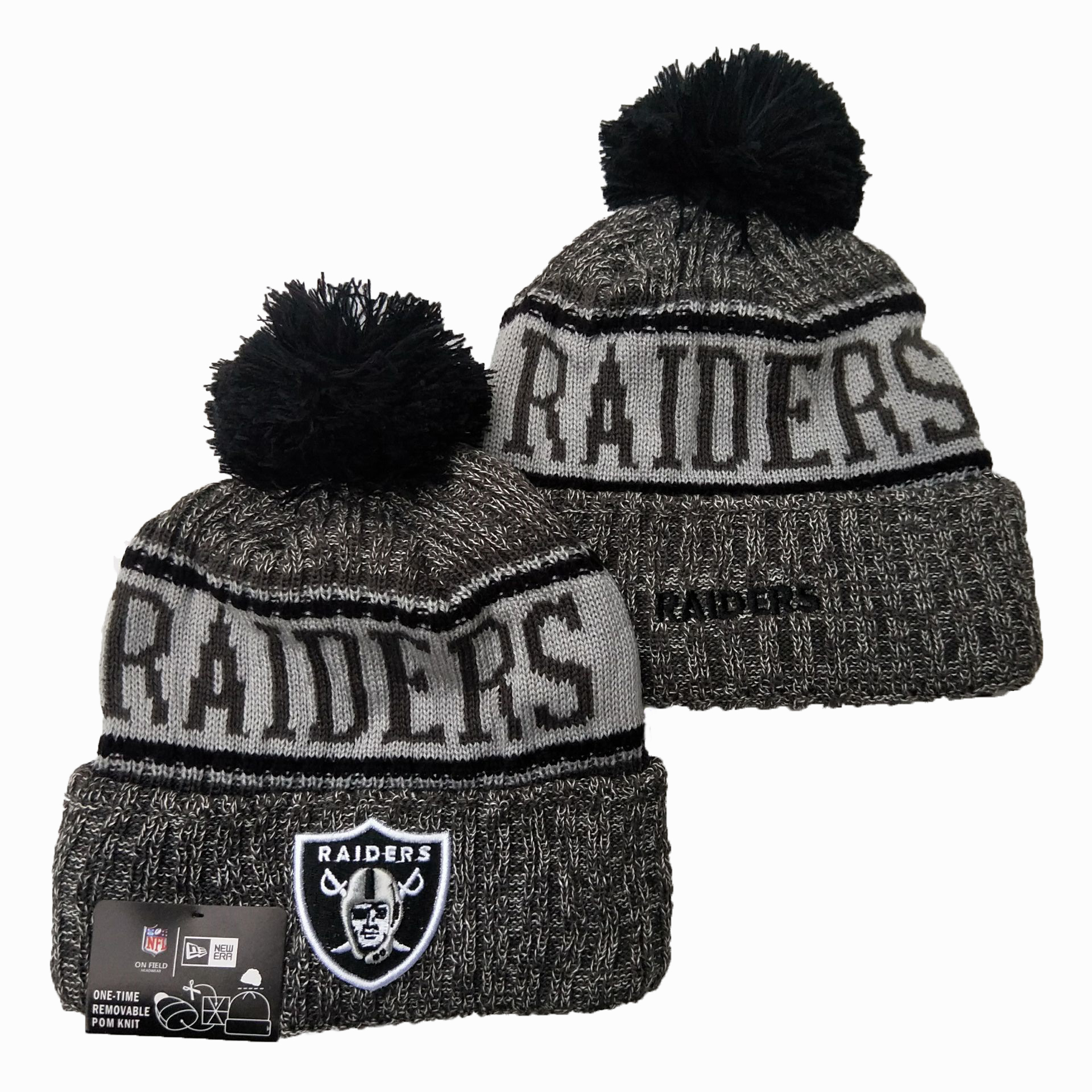 Las Vegas Raiders Knit Hats 063