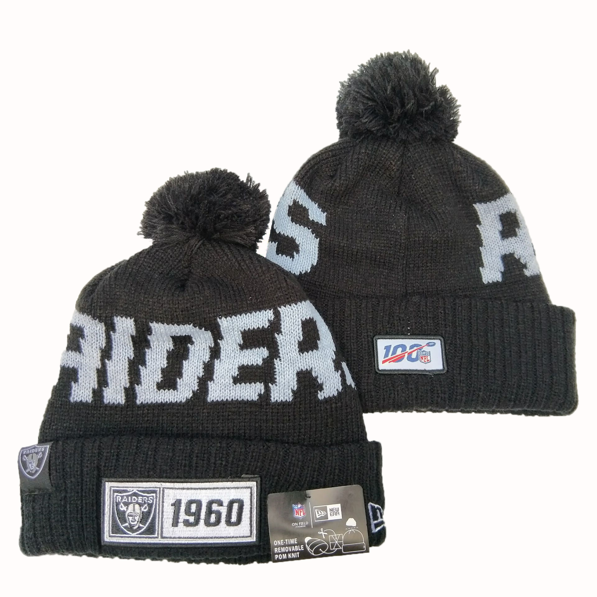 Las Vegas Raiders Knit Hats 064