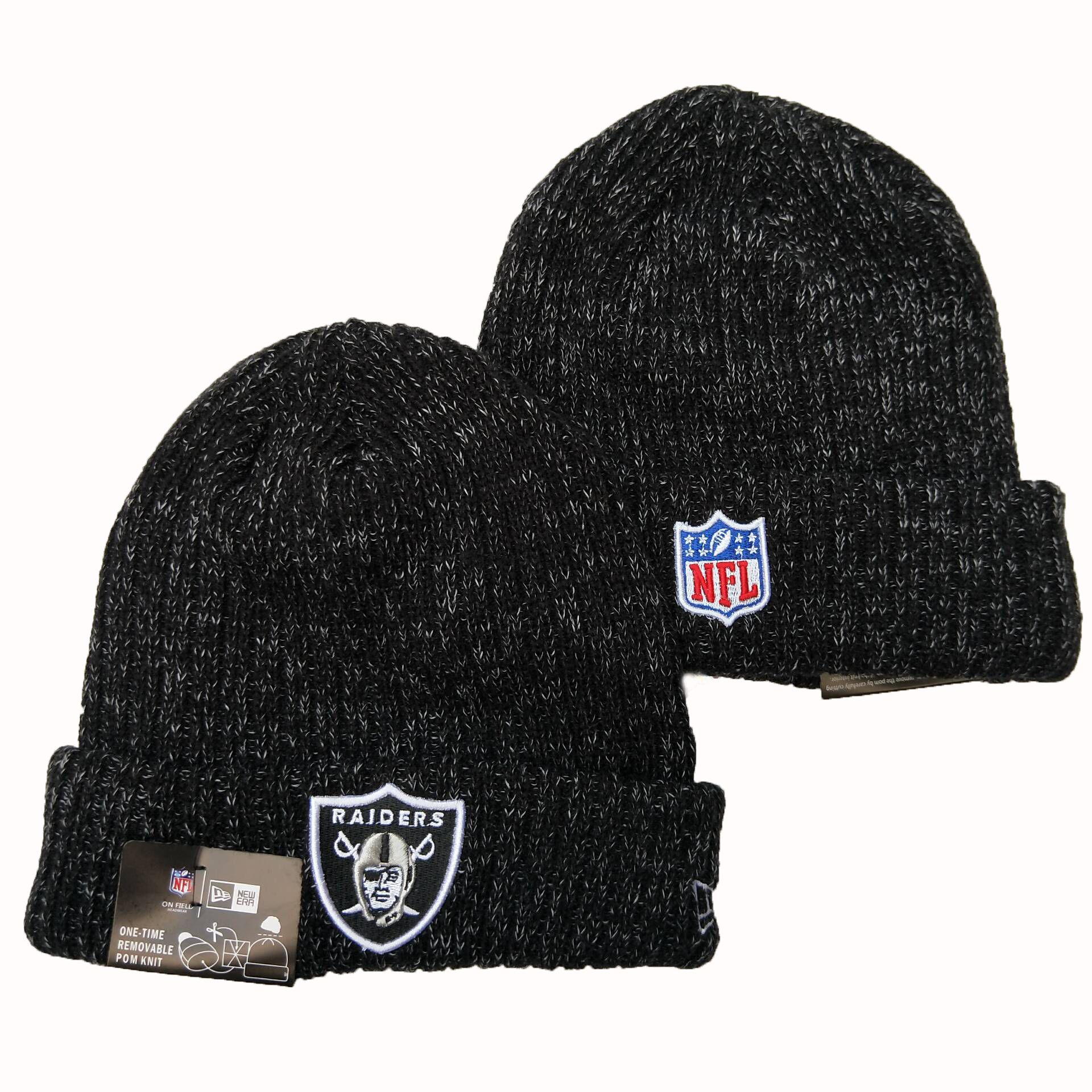 Las Vegas Raiders Knit Hats 065