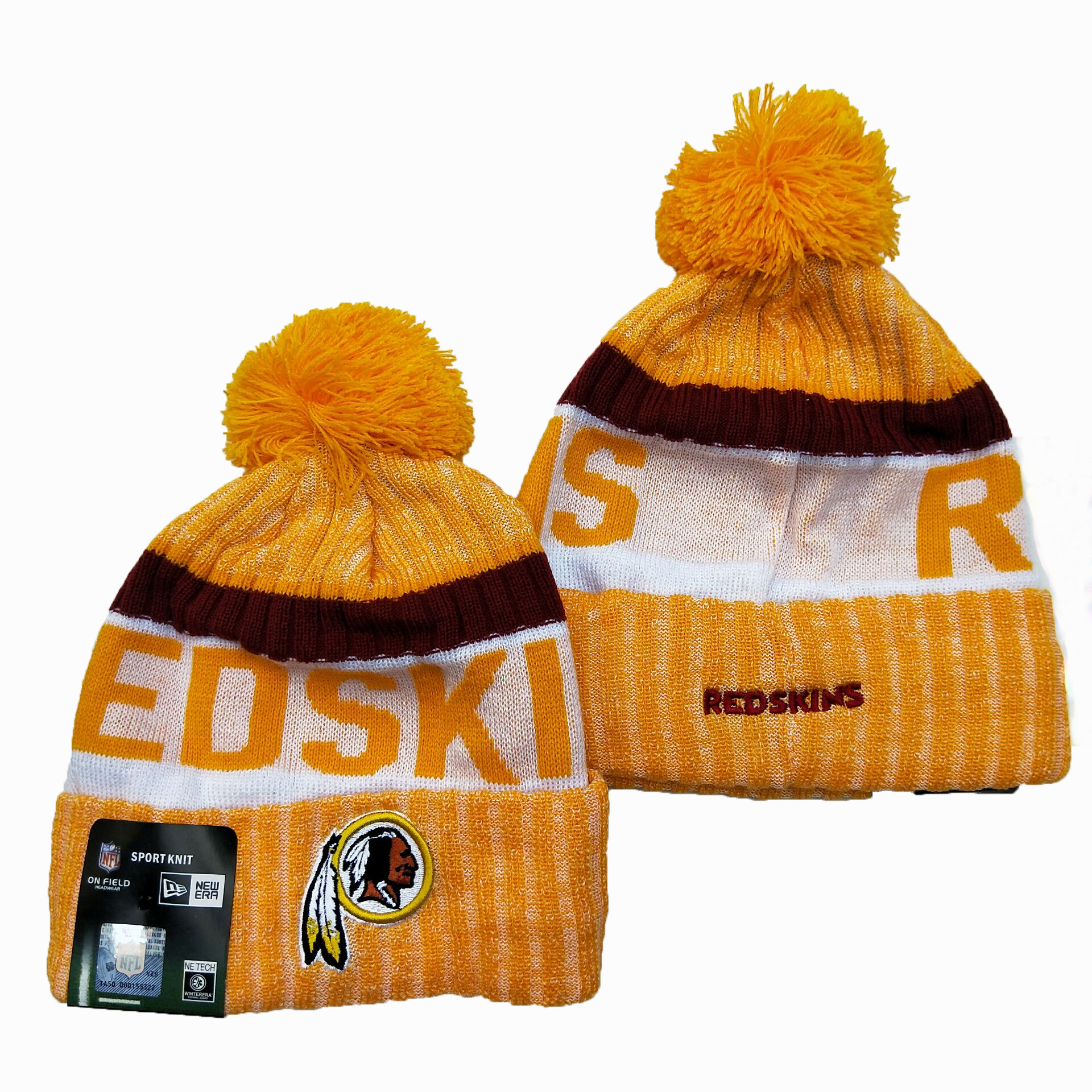 Washington Football Team Knit Hats 041