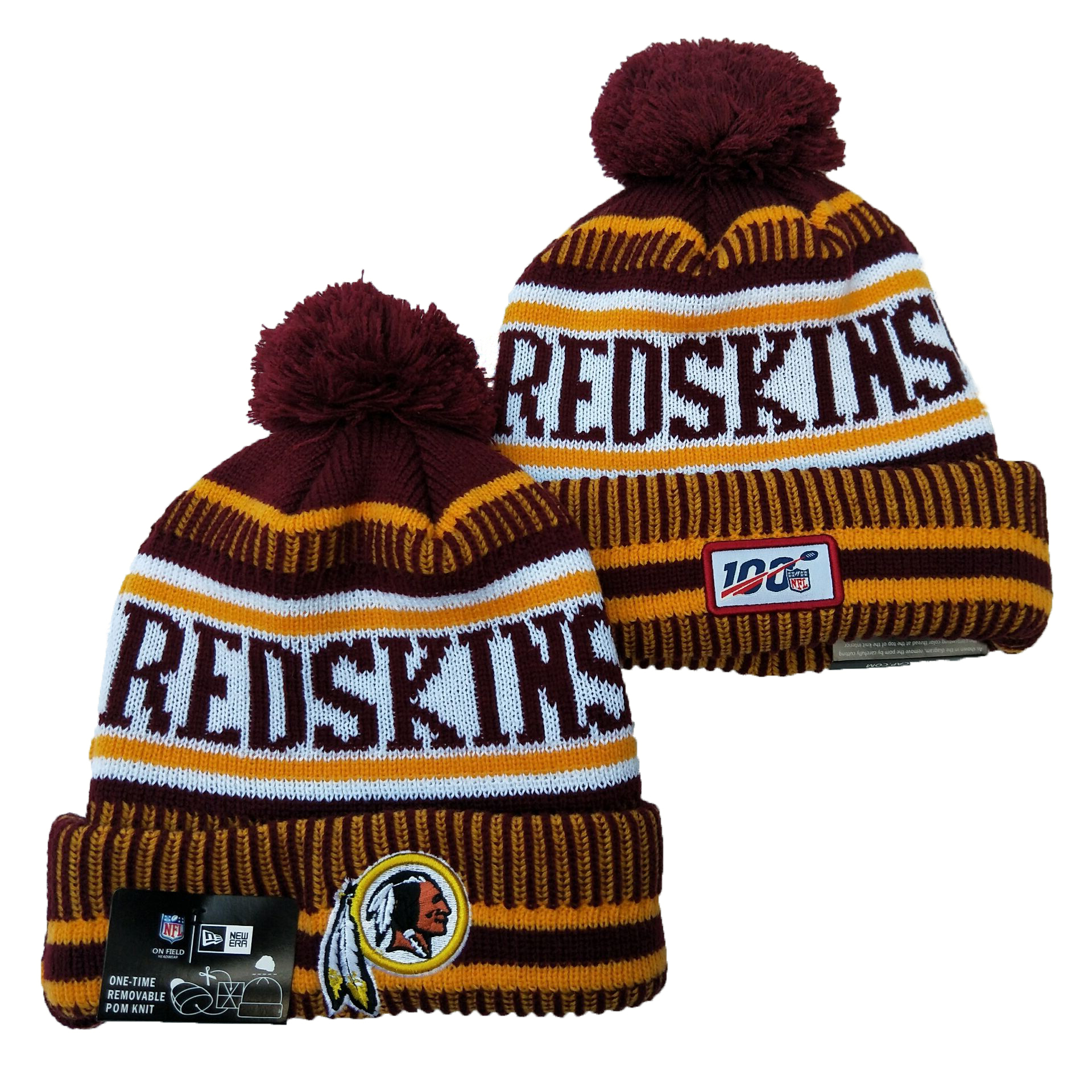 Washington Football Team Knit Hats 040