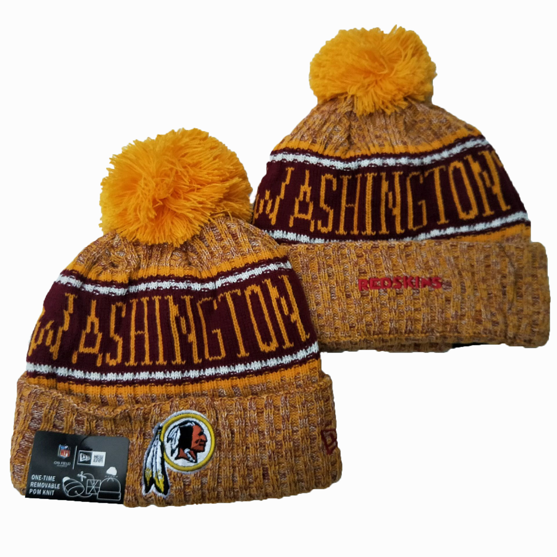 Washington Football Team Knit Hats 039