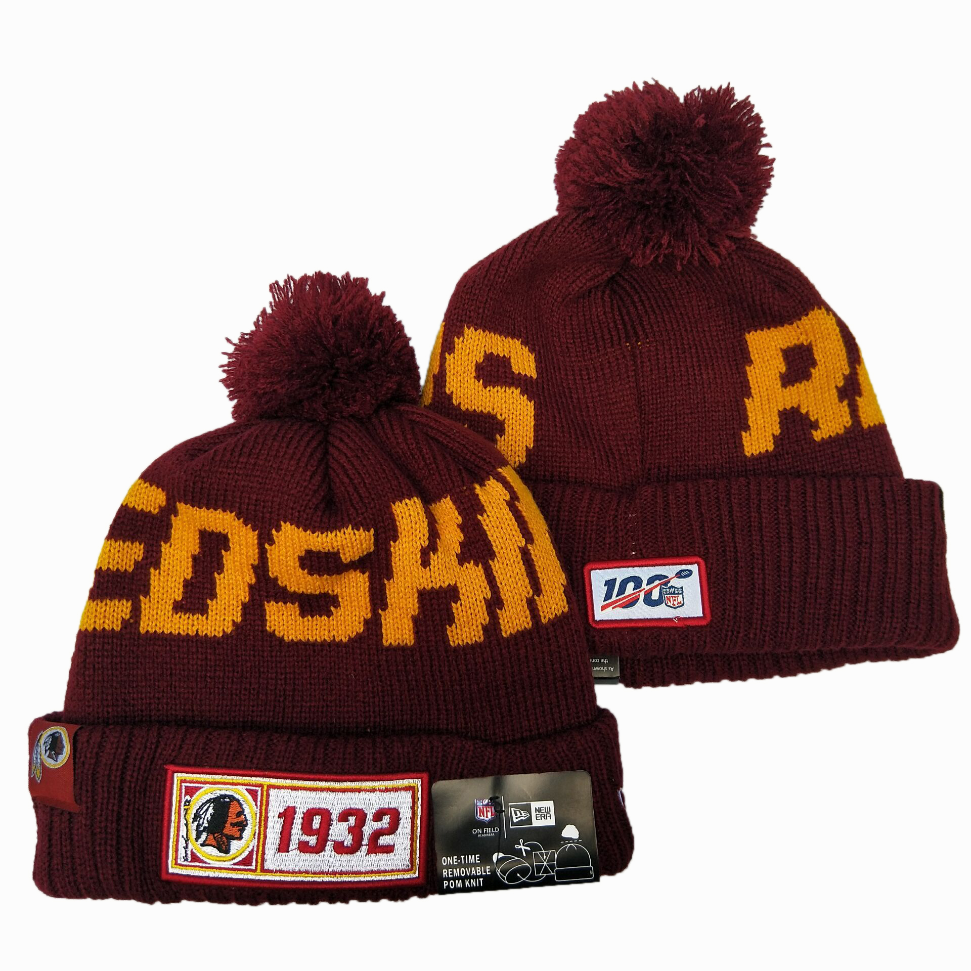 Washington Football Team Knit Hats 043