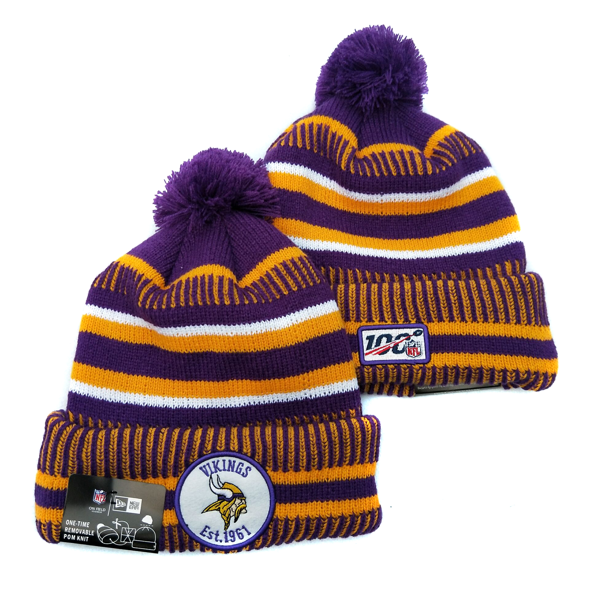 Minnesota Vikings Knit Hats 034