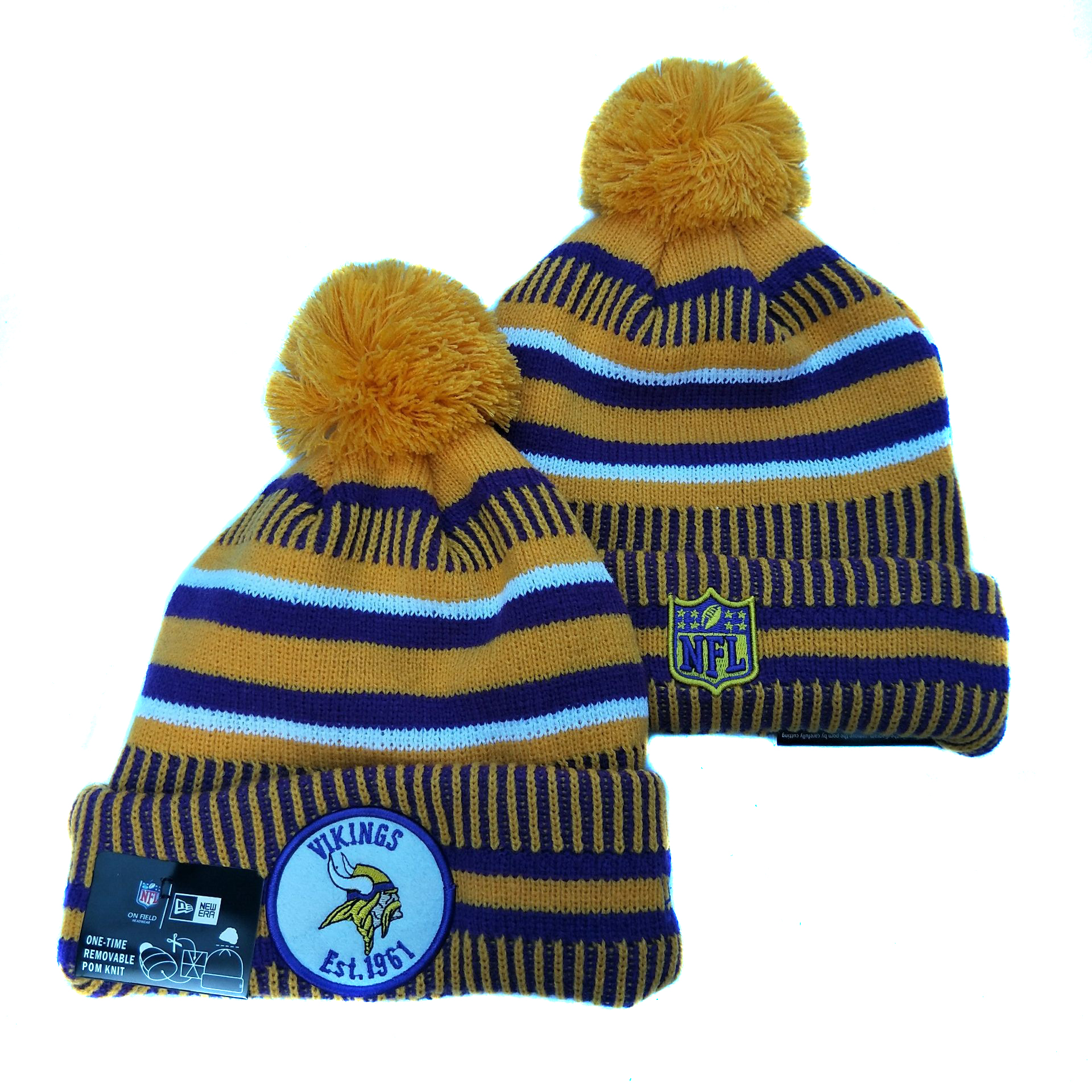Minnesota Vikings Knit Hats 033