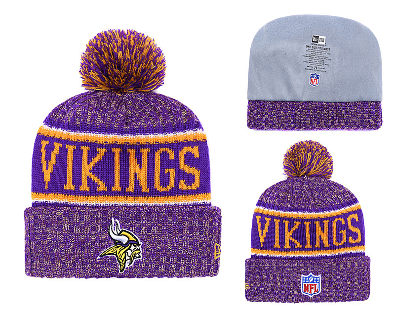 Minnesota Vikings Knit Hats 035